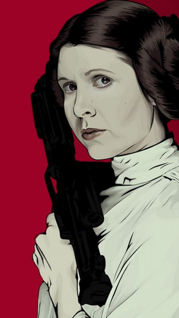 My Free Wallpapers Star Wars Wallpaper Princess Leia