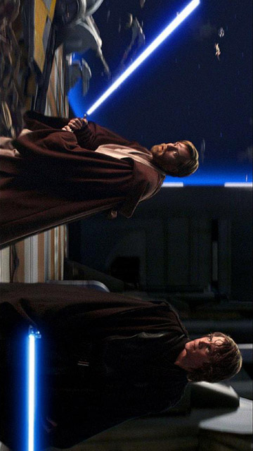 My Free Wallpapers Star Wars Wallpaper Revenge Of The Sith Anakin And Obi Wan