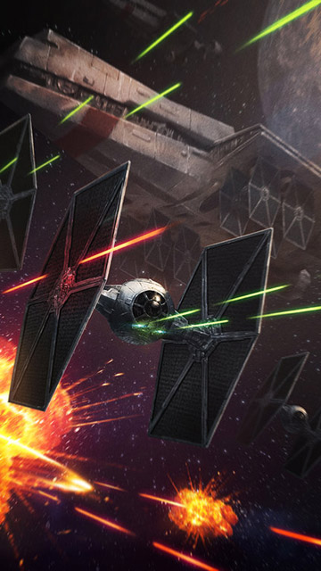 My Free Wallpapers Star Wars Wallpaper Tie Fighters