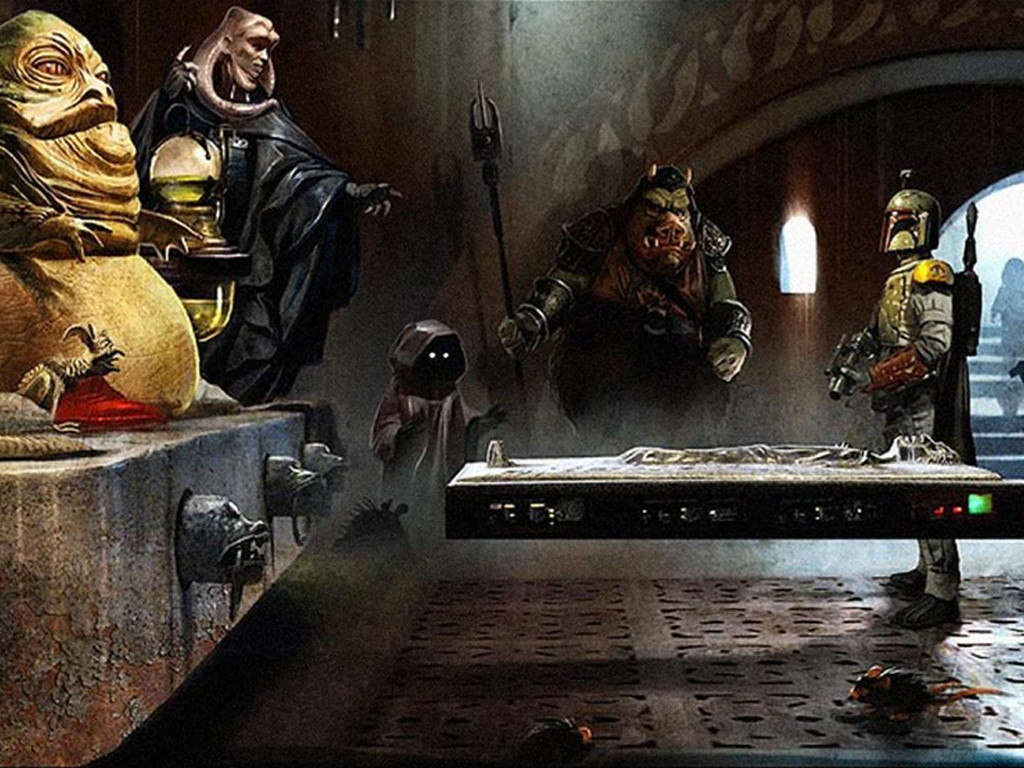 Star Wars Wallpaper: A Gift for Jabba
