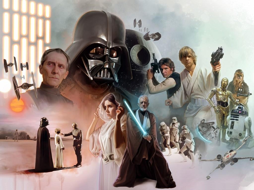 Star Wars Wallpaper: A New Hope - Fan Art