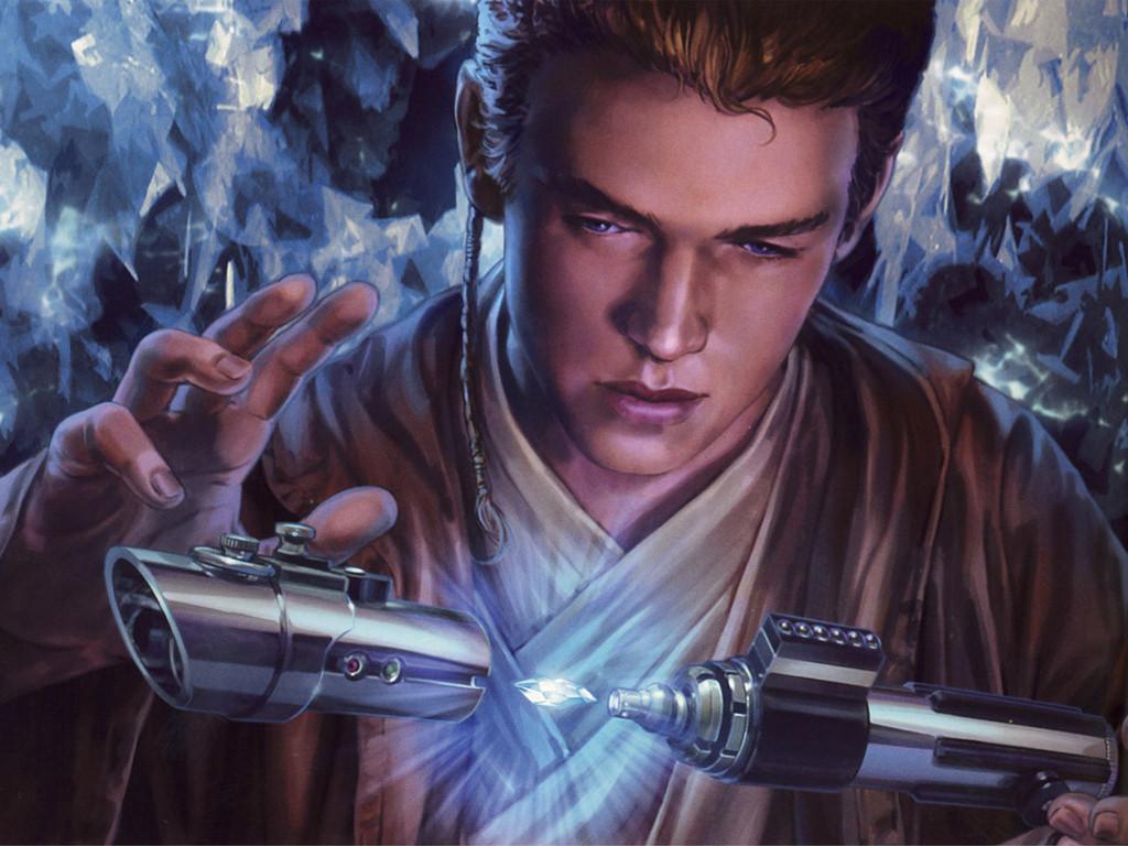 Star Wars Wallpaper: Anakin - Lightsaber