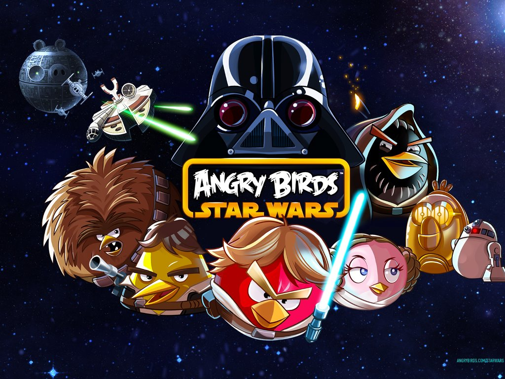 Star Wars Wallpaper: Angry Birds Star Wars