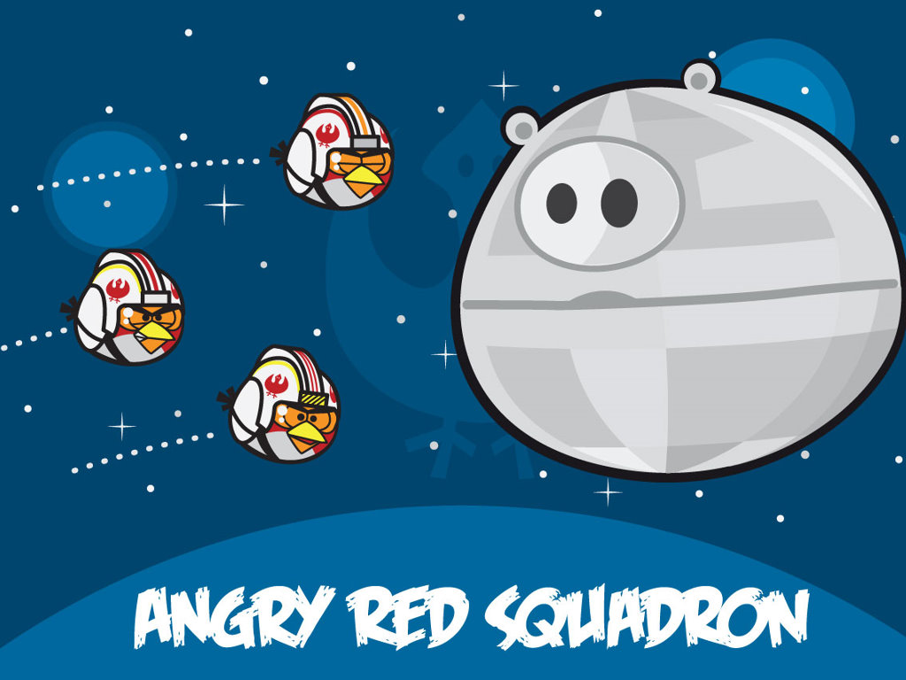 Star Wars Wallpaper: Angry Red Squadron
