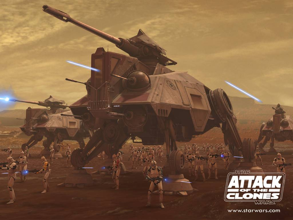 Star Wars Wallpaper: Attack of the Clones - Infantry