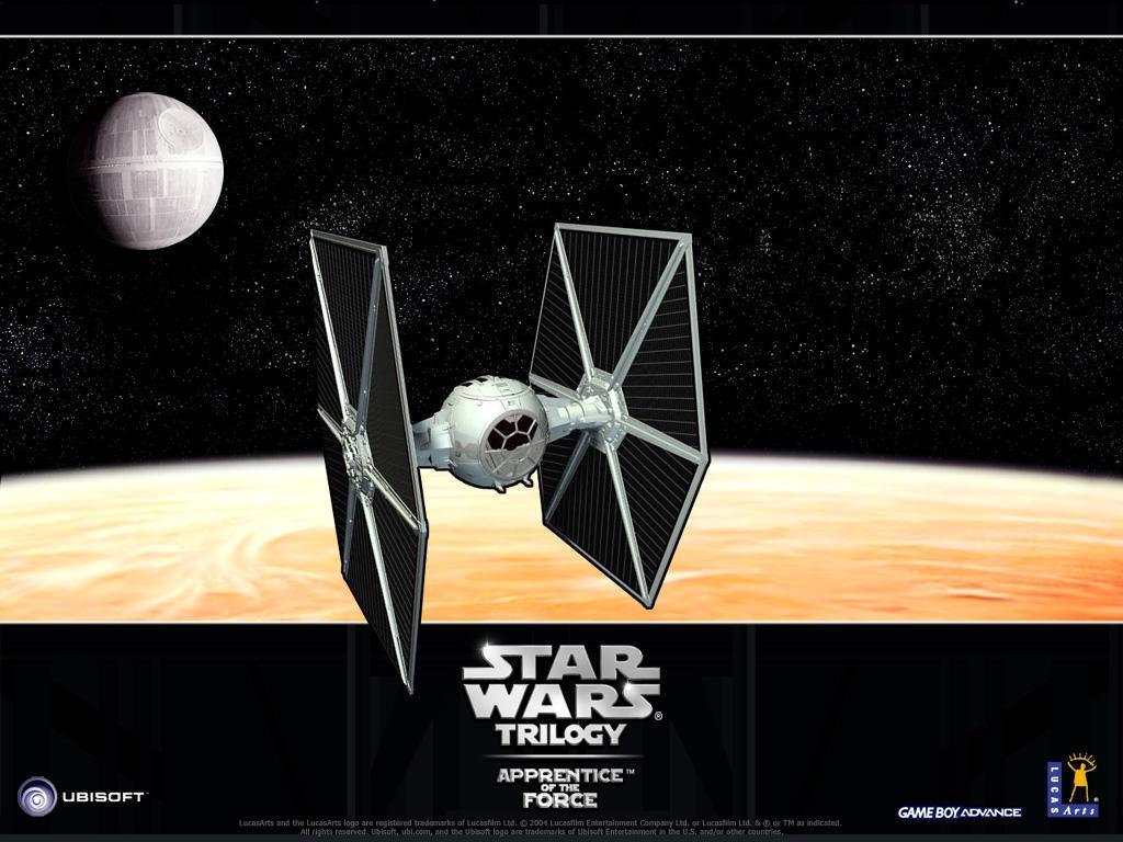 Star Wars Wallpaper: Apprentice of the Force - Tie Fighter
