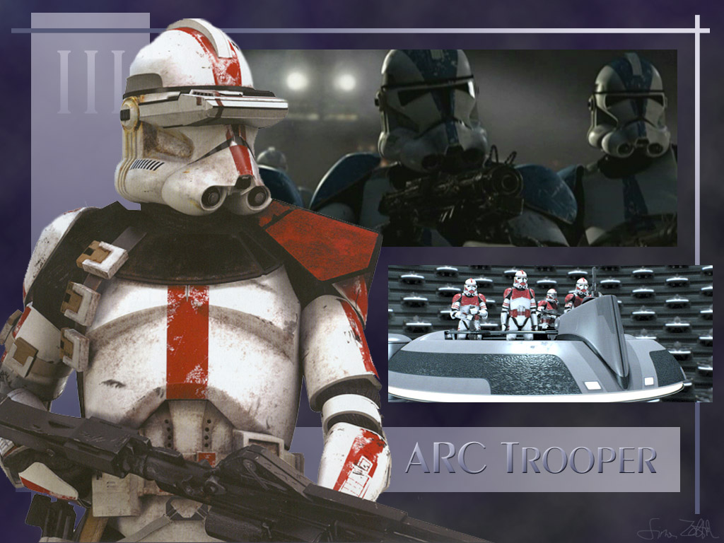 Star Wars Wallpaper: ARC Trooper