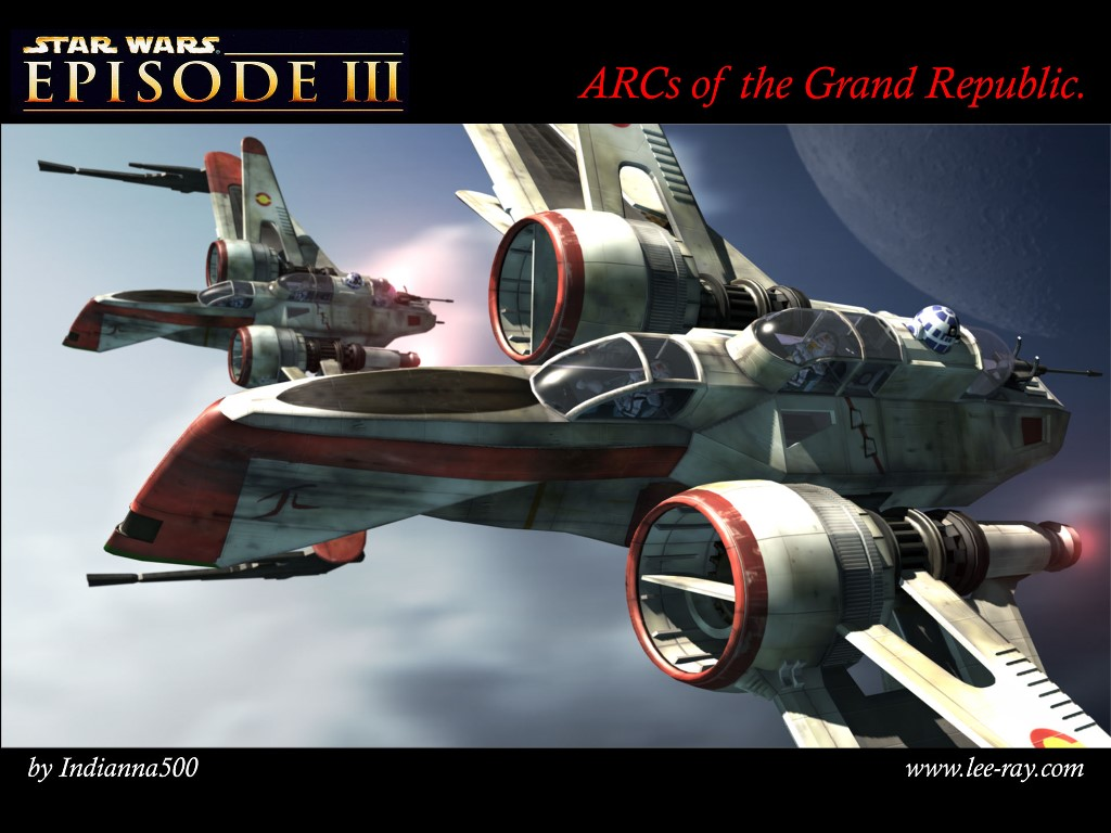 Star Wars Wallpaper: ARCs of the Grand Republic