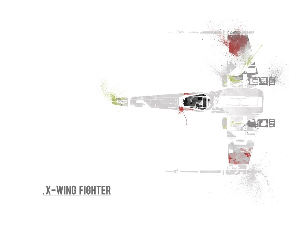 Star Wars Wallpaper: X-Wing