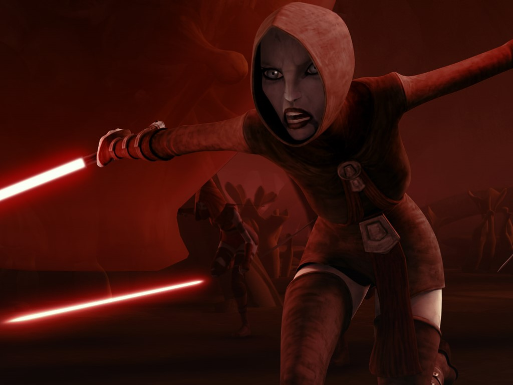 Star Wars Wallpaper: Asajj Ventress