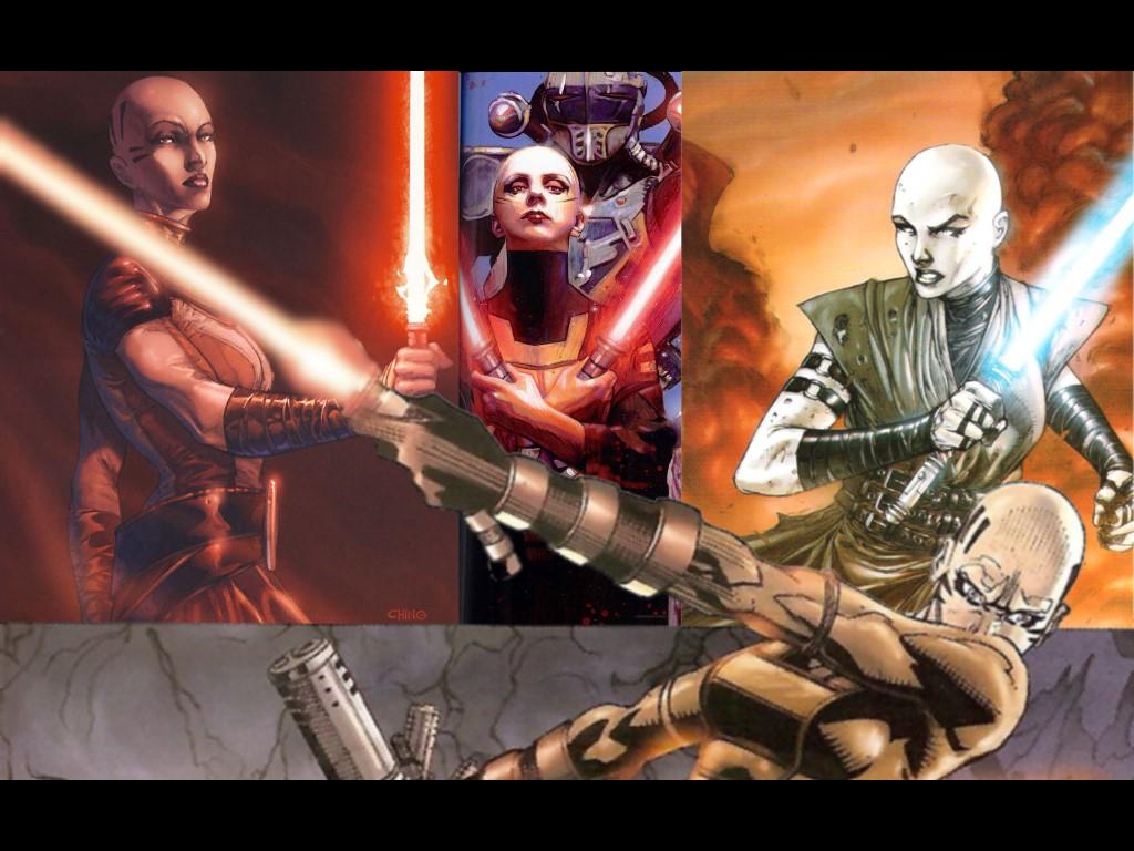 Star Wars Wallpaper: Asajj