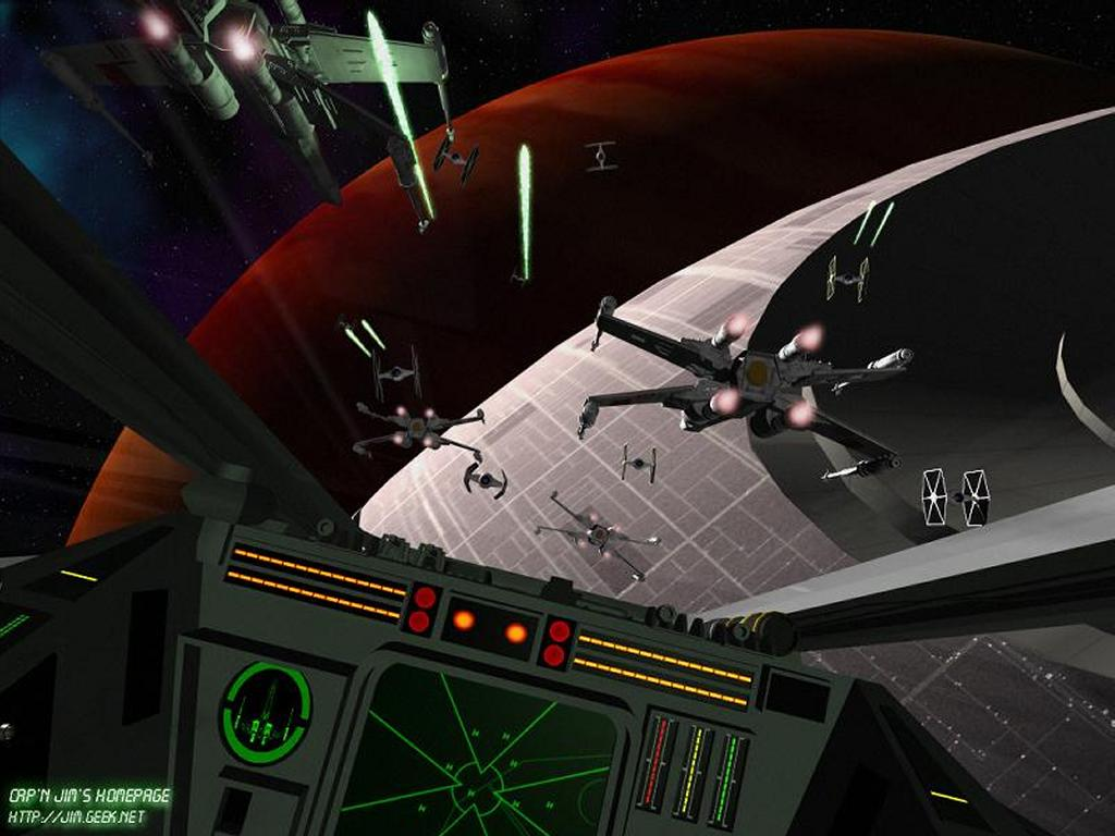 Star Wars Wallpaper: Death Star Assault