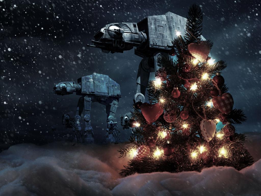 Star Wars Wallpaper: Hoth - Christmas
