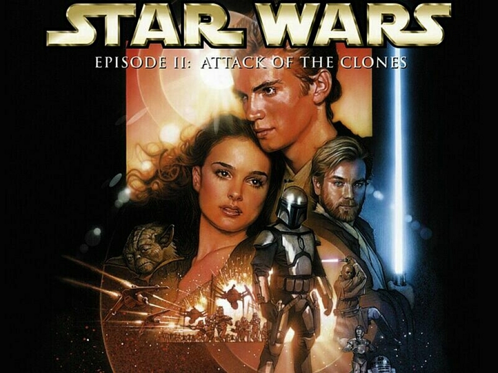 Star Wars Wallpaper: Attack of the Clones - Poster