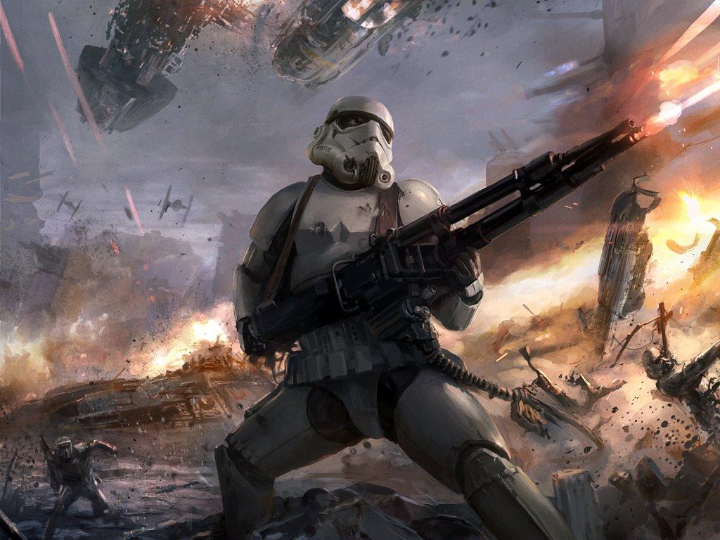 Star Wars Wallpaper: Badass Stormtrooper