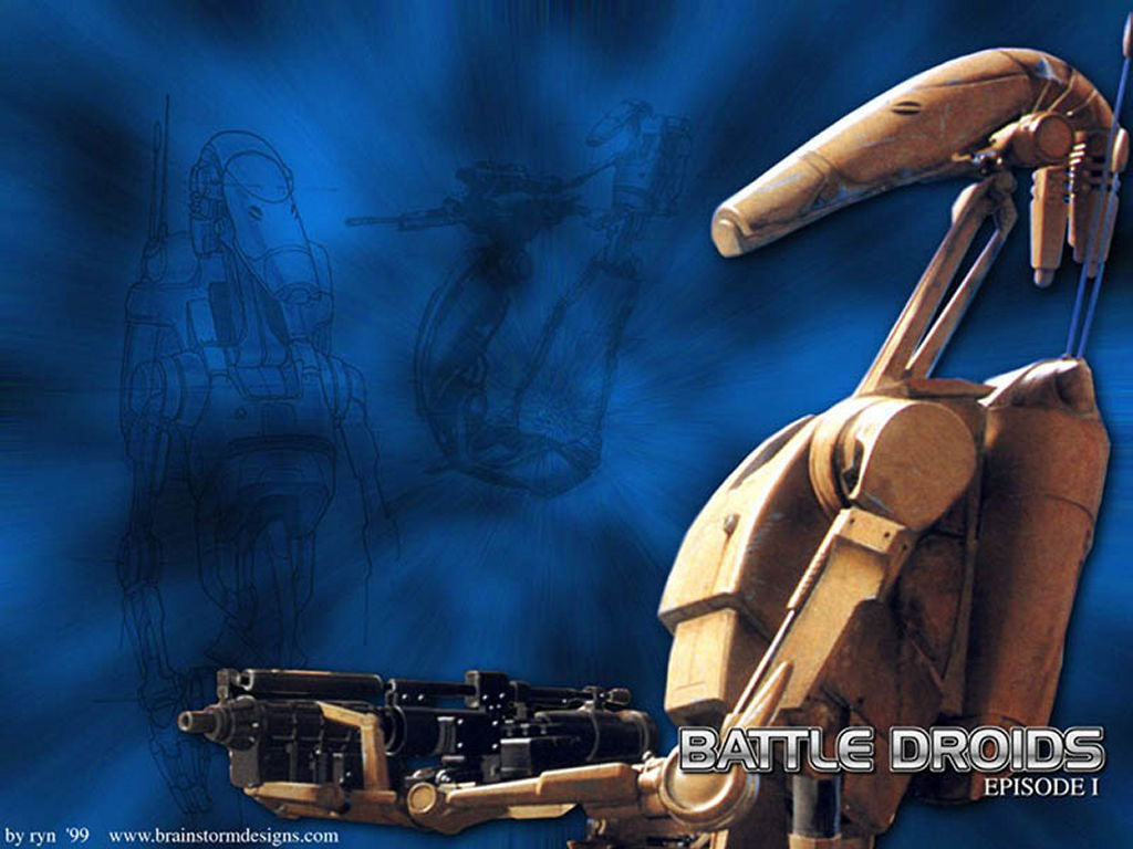 Star Wars Wallpaper: Battle Droid
