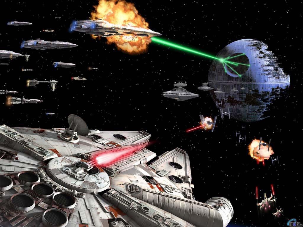 Star Wars Wallpaper: Battle of Endor