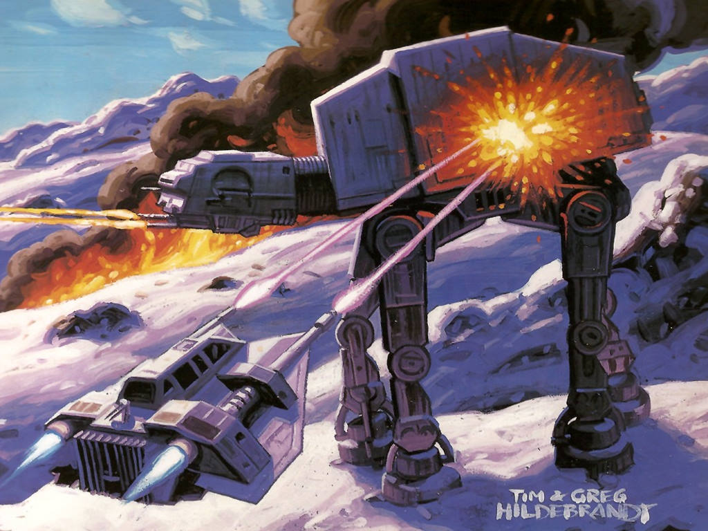 Star Wars Wallpaper: Battle of Hoth