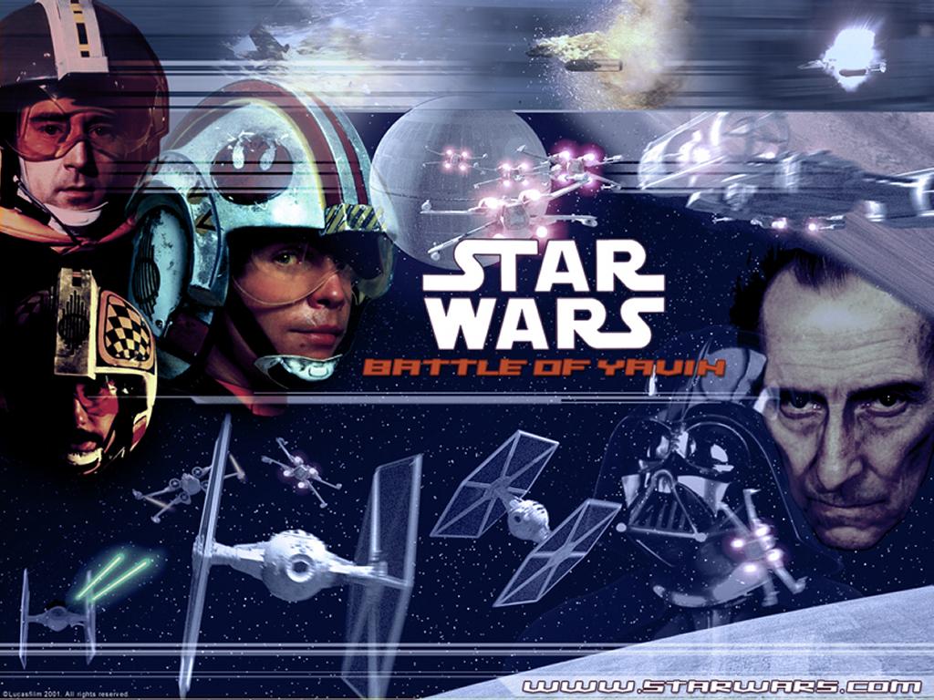 Star Wars Wallpaper: Battle of Yavin