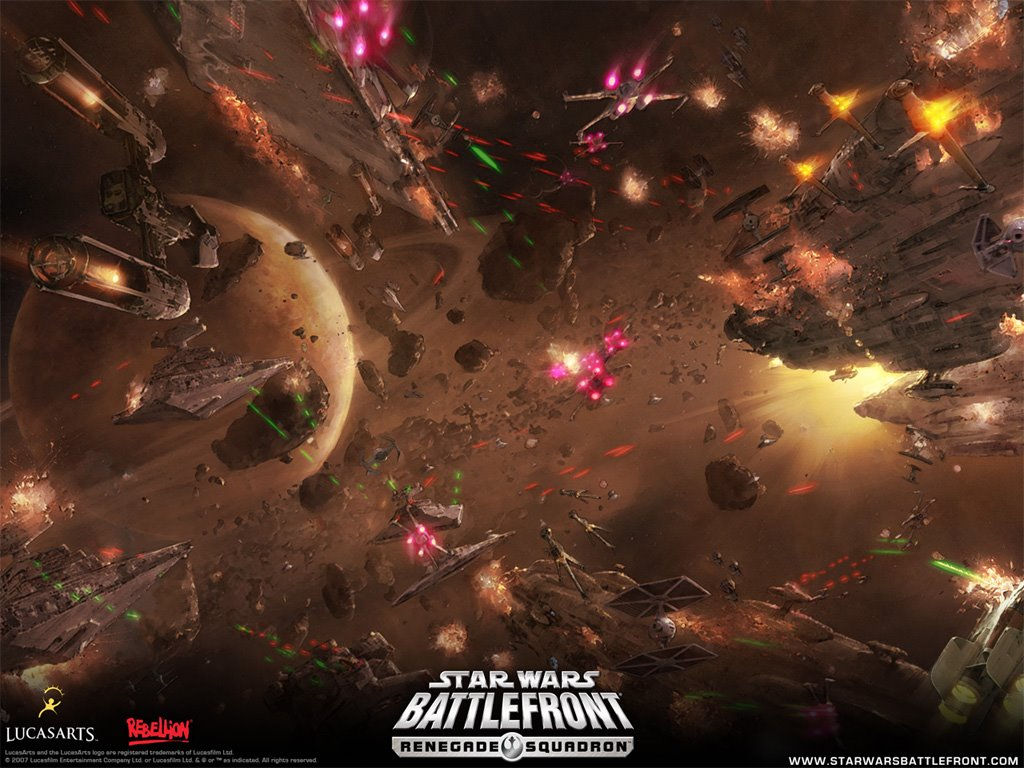 Star Wars Wallpaper: Battlefront - Renegade Squadron