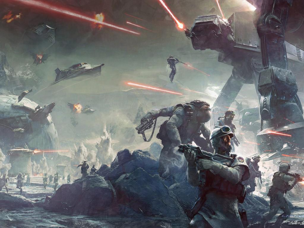 Star Wars Wallpaper: Battlefront - Twilight Company