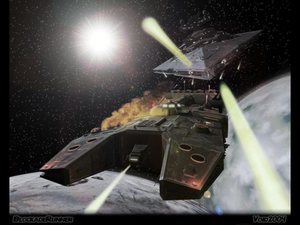 Star Wars Wallpaper: Blockade Runner