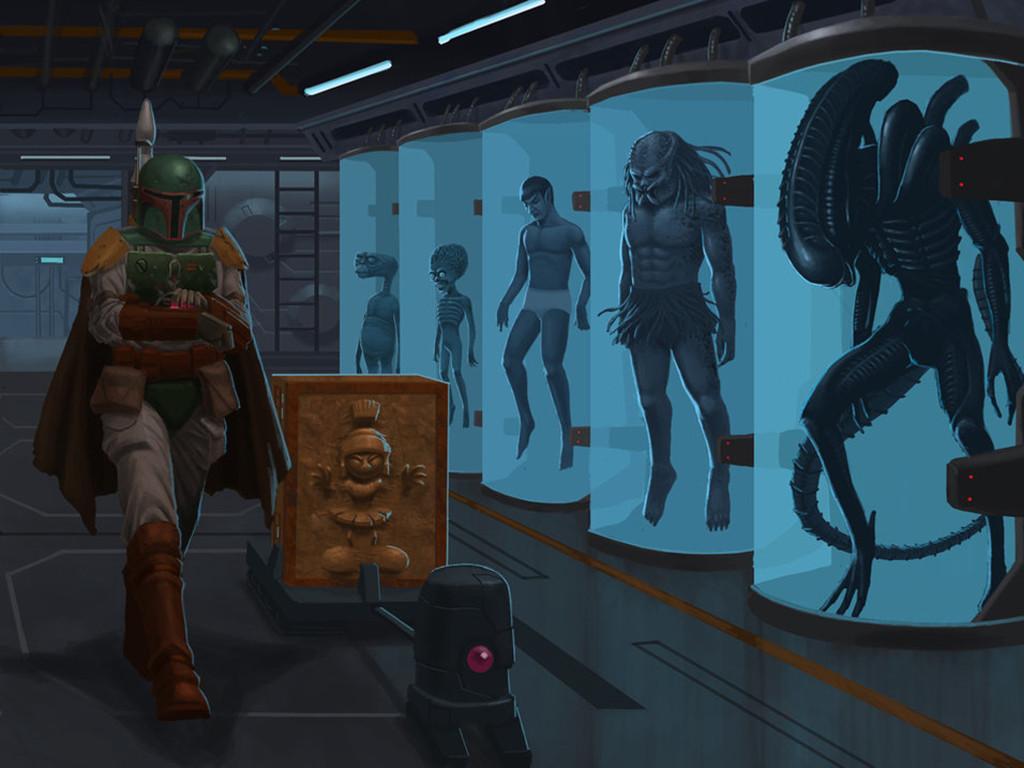 Star Wars Wallpaper: Boba Fett - Preys