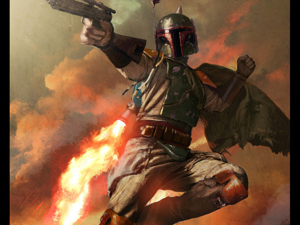 Star Wars Wallpaper: Boba Fett
