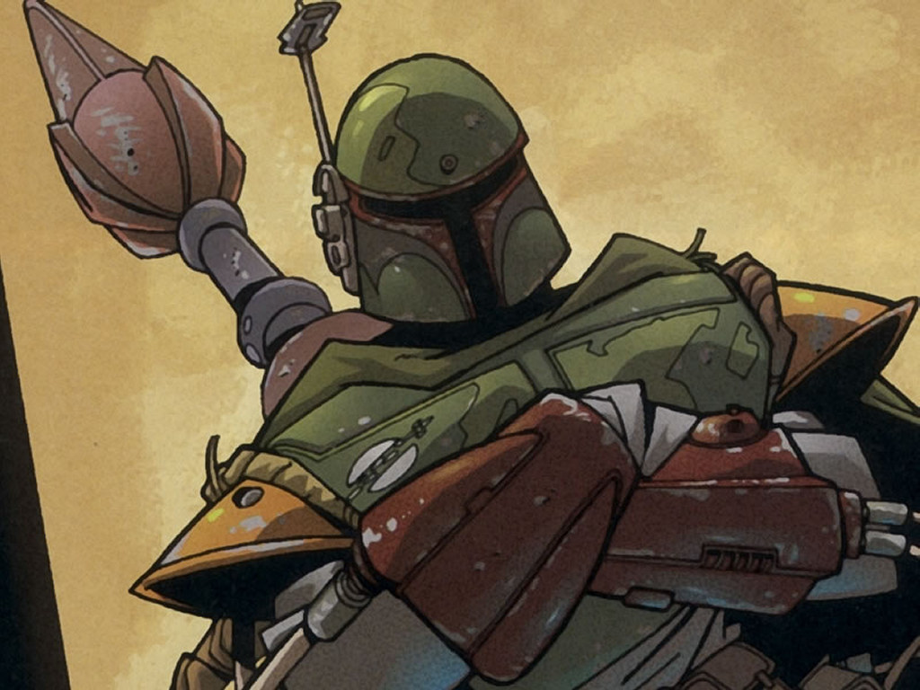 Star Wars Wallpaper: Bobba Fett - Anime