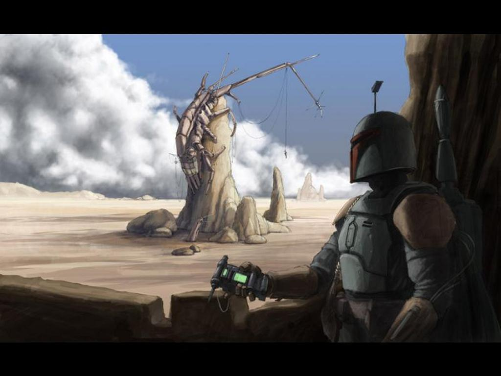 Star Wars Wallpaper: Bobba Fett