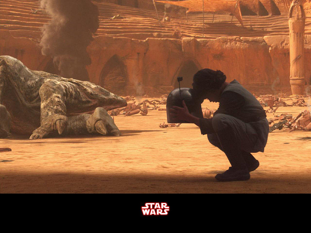 Star Wars Wallpaper: Bobba Fett - Loss