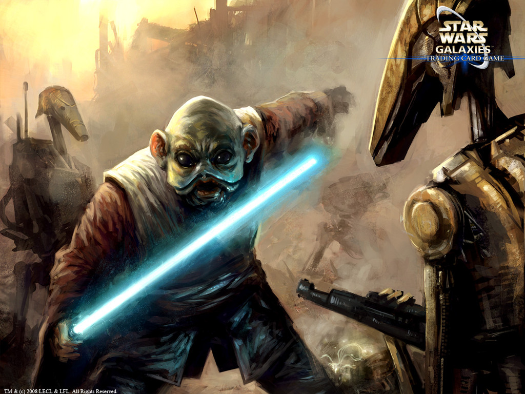 Star Wars Wallpaper: Champions of Force