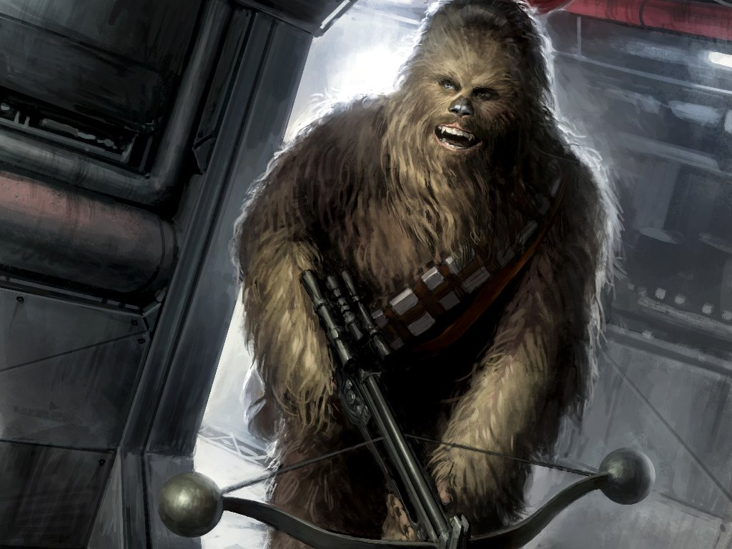Star Wars Wallpaper: Chewbacca