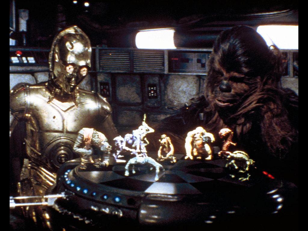 Star Wars Wallpaper: Chewbacca and C3-PO