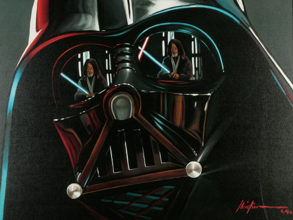 Star Wars Wallpaper: Darth Vader (by Christian Waggoner)