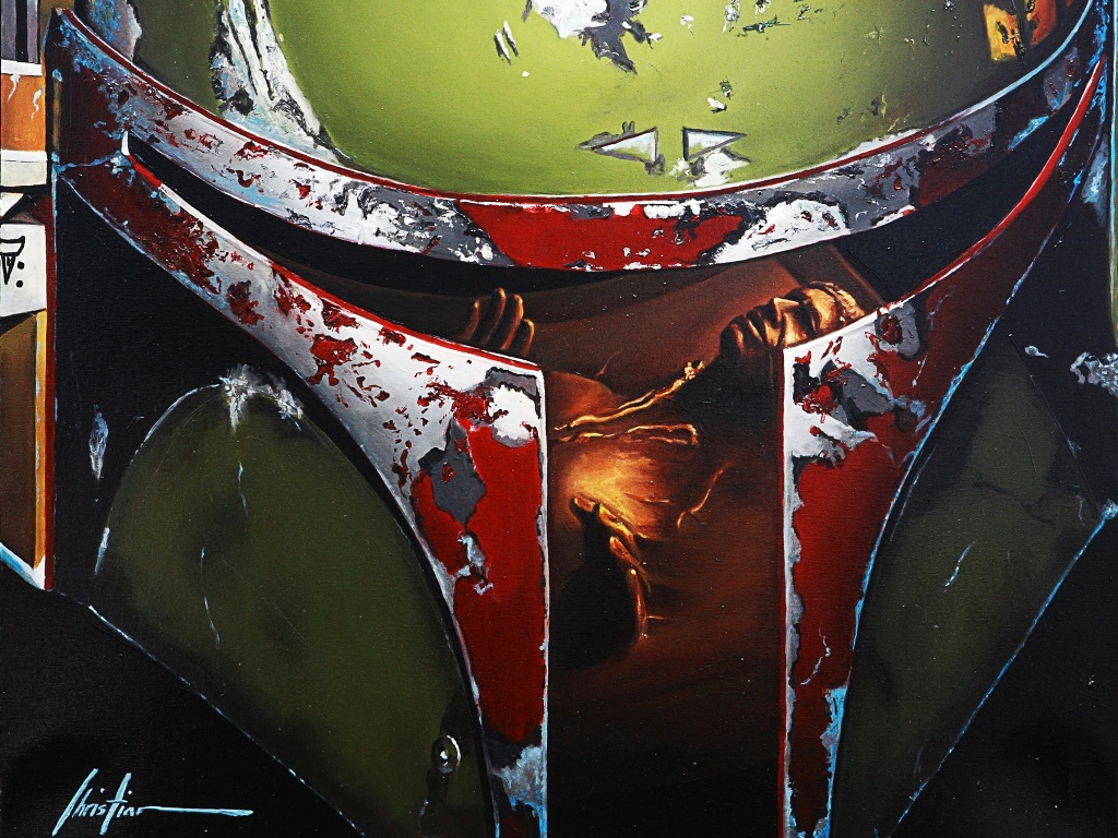 Star Wars Wallpaper: Boba Fett (by Christian Waggoner)