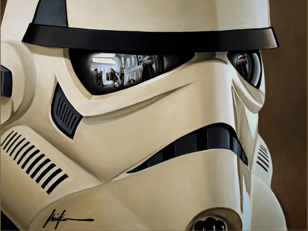Star Wars Wallpaper: Stormtrooper (by Christian Waggoner)