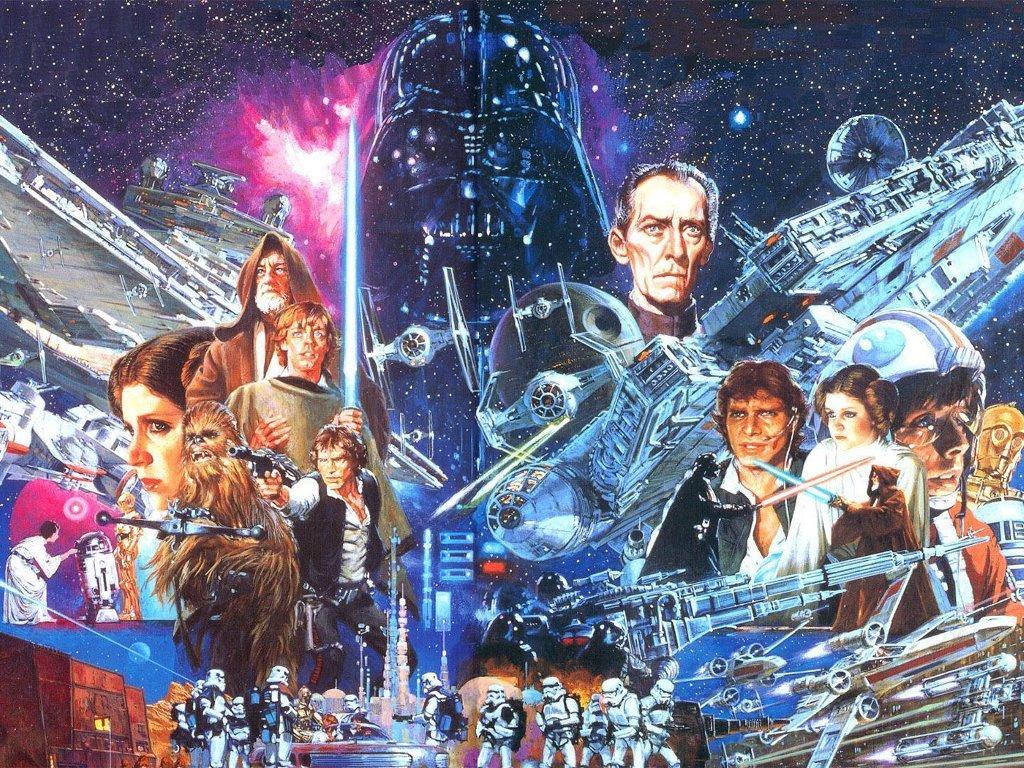 Star Wars Wallpaper: Classic Trilogy - Poster