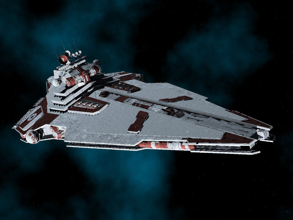 Star Wars Wallpaper: Clone Destroyer