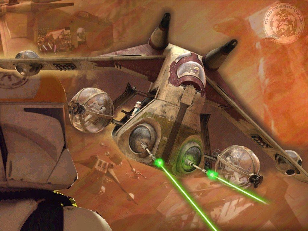 Star Wars Wallpaper: Clone Ship
