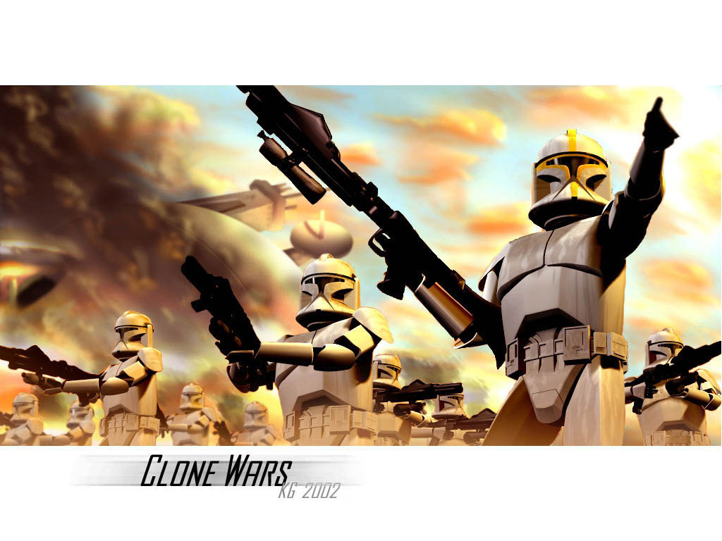Star Wars Wallpaper: Clone Troops