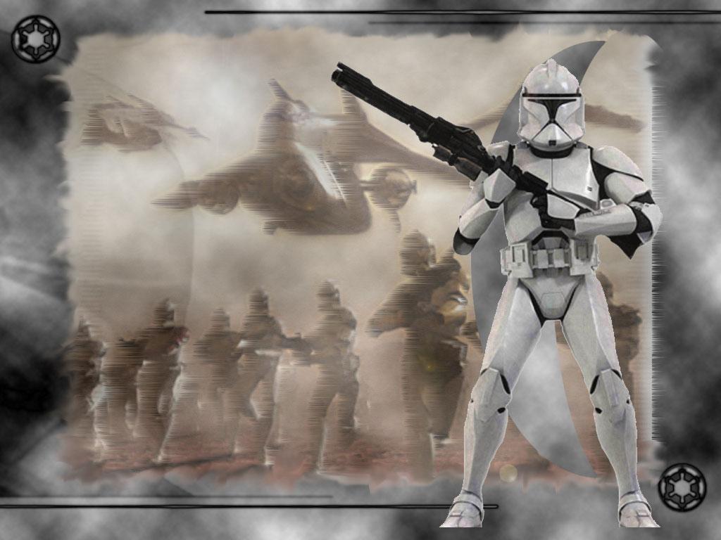 Star Wars Wallpaper: Clone Troops