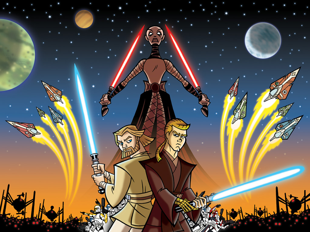 Star Wars Wallpaper: Clone Wars