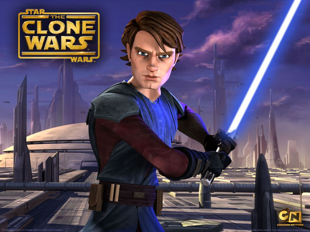 Star Wars Wallpaper: Clone Wars - Anakim