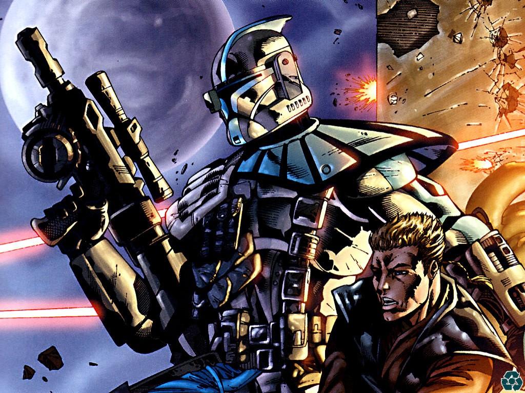 Star Wars Wallpaper: Clone Wars (Comics)