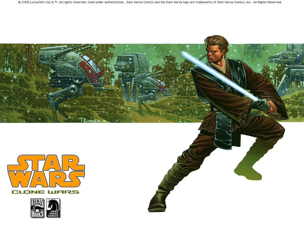 Star Wars Wallpaper: Clone Wars (Comics) - Anakim Skywalker