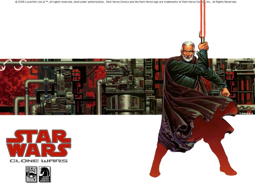 Star Wars Wallpaper: Clone Wars - Count Dooku