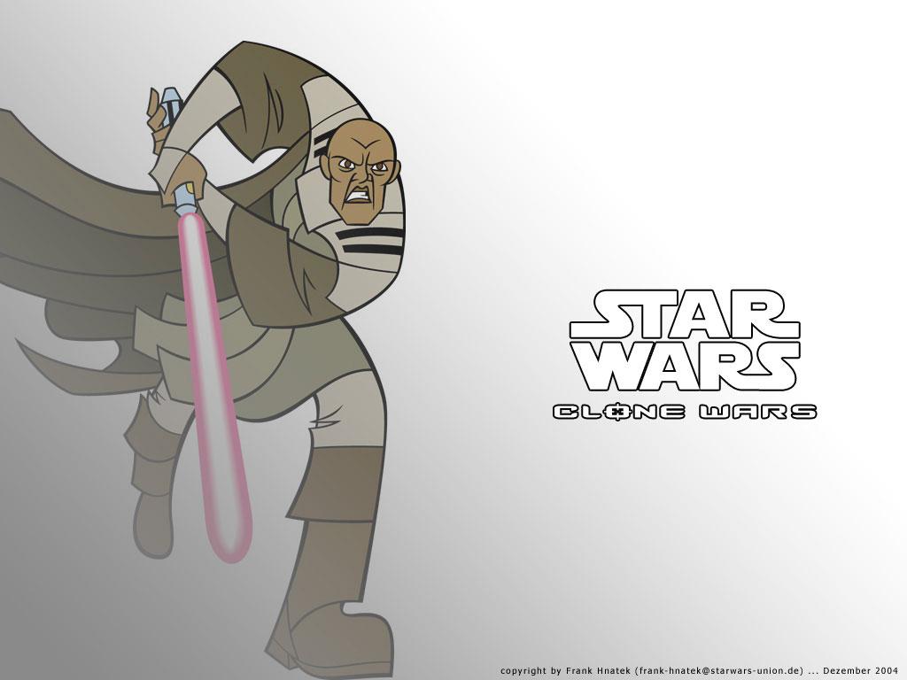 Star Wars Wallpaper: Clone Wars - Mace Windu