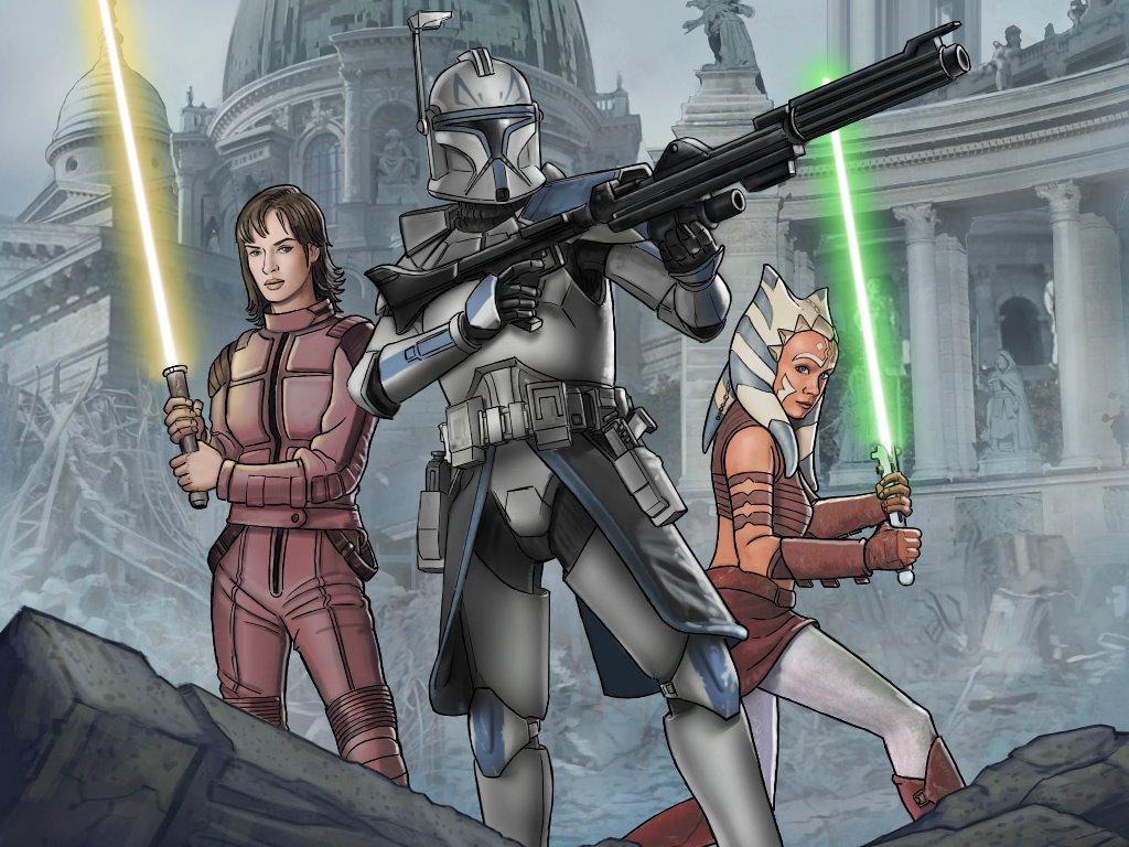 Star Wars Wallpaper: Clone Wars - No Prisoners