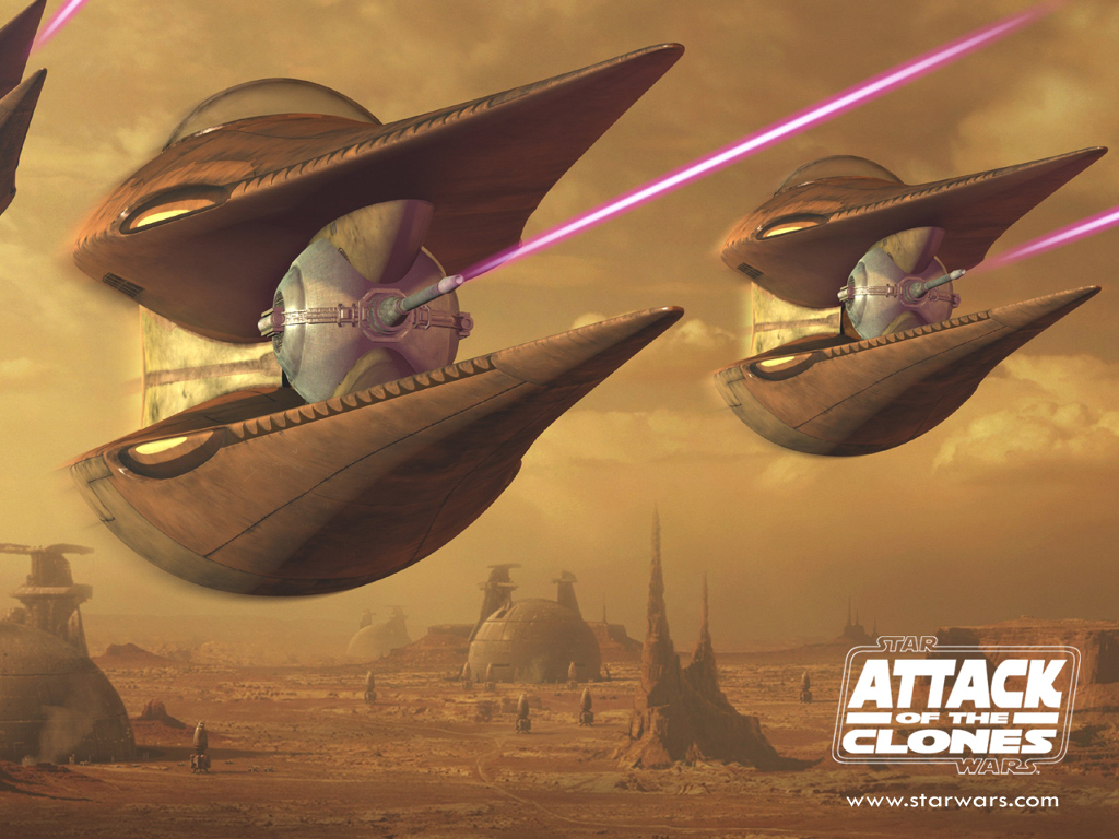 Star Wars Wallpaper: The Attack of the Clones